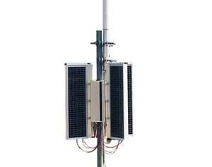 Solar Powered long range MANET Radio Base Stations
