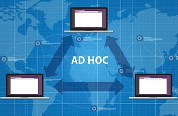 Characteristics of wireless ad hoc network