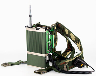 Ad-Hoc Network Military Manpack Radio Repeater